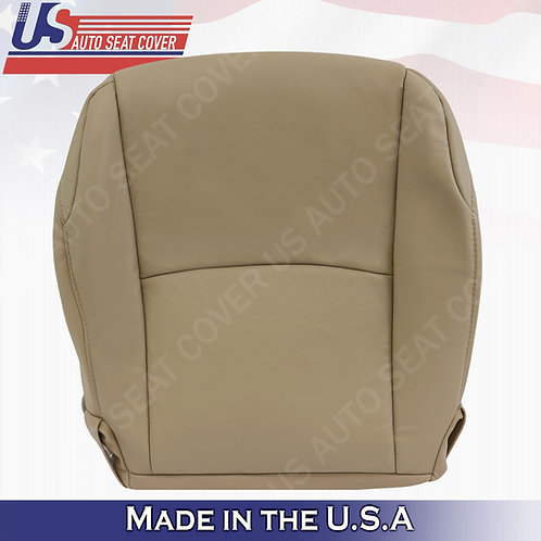 Fits 2010-2014 Toyota 4Runner Passenger Bottom Leather seat Cover Tan