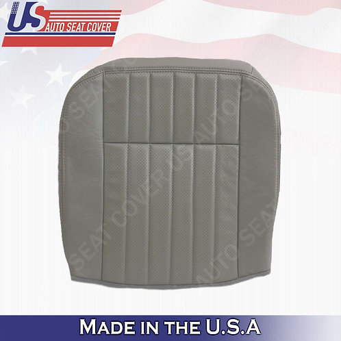 1994 1995 1996 Chevy Impala SS Driver Bottom Leather Replacement Seat Cover Gray