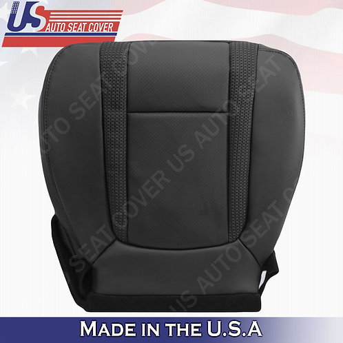 2010-2014 Ford F150 Raptor Passenger Bottom Perforated Leather Seat Cover B