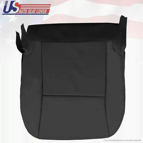 2010-2012 Lexus RX350 RX450 Passenger Bottom Perf. Leather Seat Cover Black