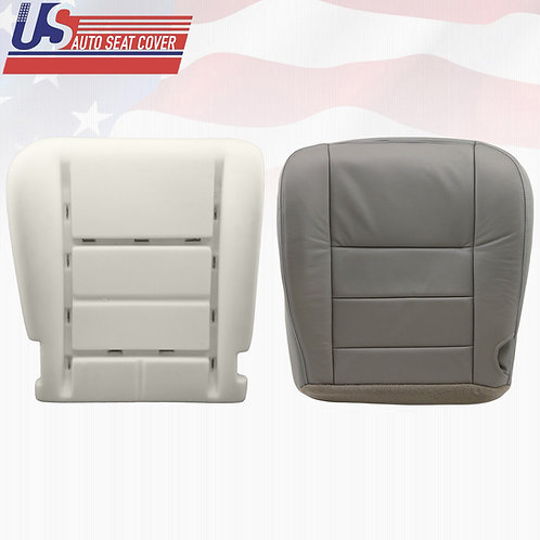 2002-2005 Ford Excursion Ltd. Driver Side Bottom Vinyl Seat Cover Plus Foam