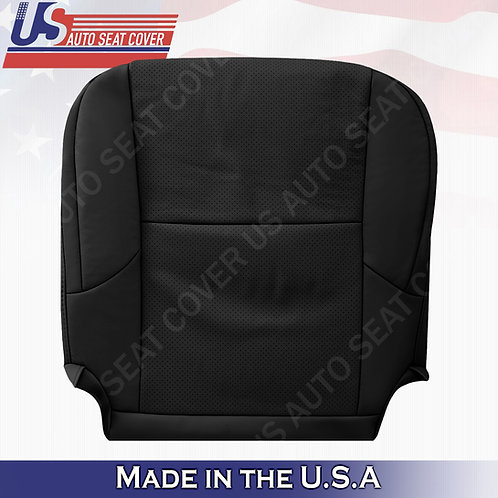 Fits 2010-2017 Lexus GX460 470 Driver Bottom Perforated Leather Seat Cover Black