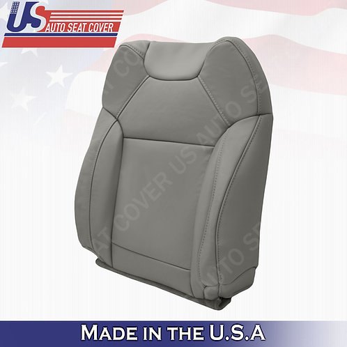 For 2014 to 2020 Acura MDX Passenger Top  Leather Seat Cover Gray