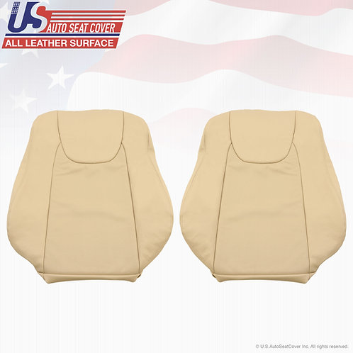 2010 2011 2012 Lexus RX350 Lean Back Perforated Leather Seat Cover in Tan