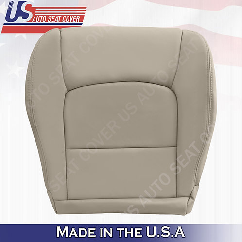 Passenger Bottom Leather seat cover Tan fits 1999-2007 Lexus LX470