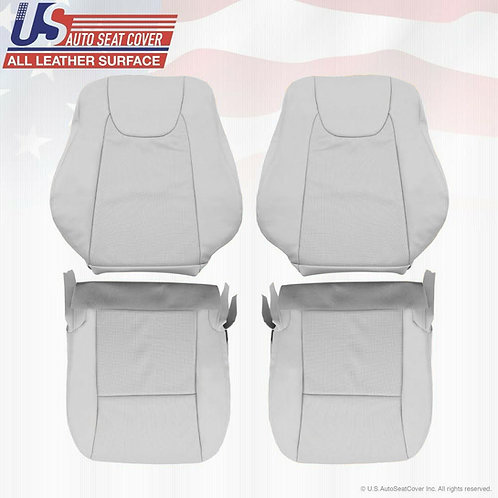 For 2010 2011 2012 Lexus RX350 Front Set Perforated Leather Seat Cover Gray