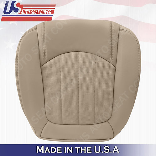 2008 -2012 Buick Enclave 1XL Driver Bottom Perforated Leather Seat Cover Tan