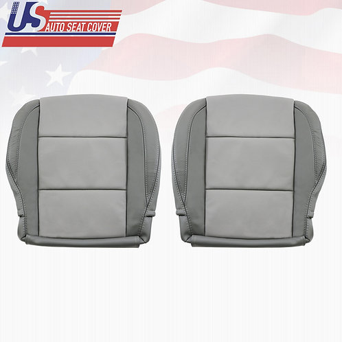 2005-2015 Bottoms LEATHER Seat Cover For Nissan Armada 2-TONE GRAY