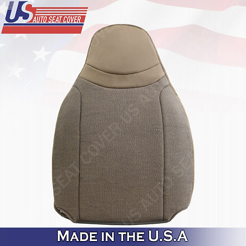2000-2002 Ford Ranger XL XLT Passenger top cloth seat cover in Tan