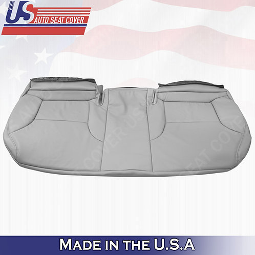 For 2003-2006 Lexus ES330 Rear Bottom Bench Perf. Leather Replacement cover Gray