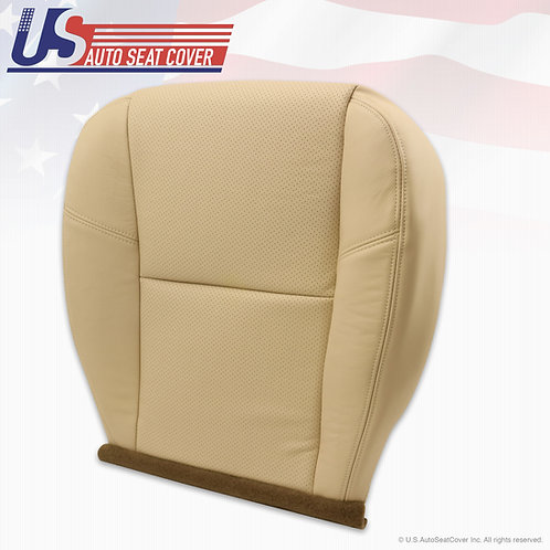 2009 to 2014 Cadillac Escalade Passenger Bottom Perforated Leather Seat Cover