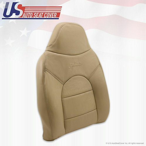 2000 Ford F250 350 Lariat Front Passenger Side Top Leather seat Cover Tan