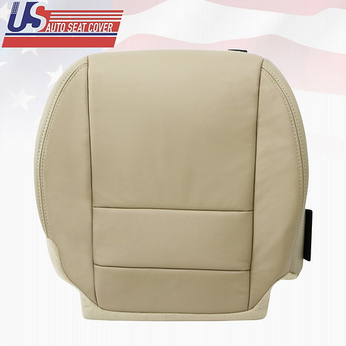2007 to 2012 Acura MDX Front Passenger Bottom Replacement Leather Seat Cover TAN
