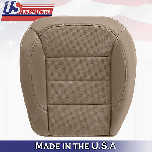 For 2012- 2015 Mercedes Benz ML250 Passenger Bottom Perforated Leather Cover Tan
