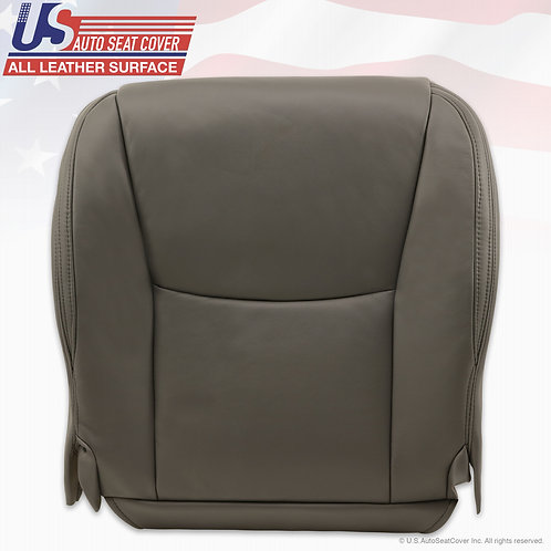 Passenger Bottom Leather Seat Cover Gray For 2003-2009 Lexus GX470
