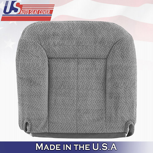 1995-1999 GMC Sierra Driver Bottom Cloth in Gray Seat Cover
