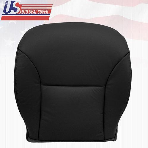 Fit 2002-2006 Lexus ES300 ES330 Passenger Bottom Leather Seat Cover Black