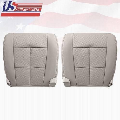2007-2014 Lincoln Navigator Driver &Passenger bottom Seat Covers Gray