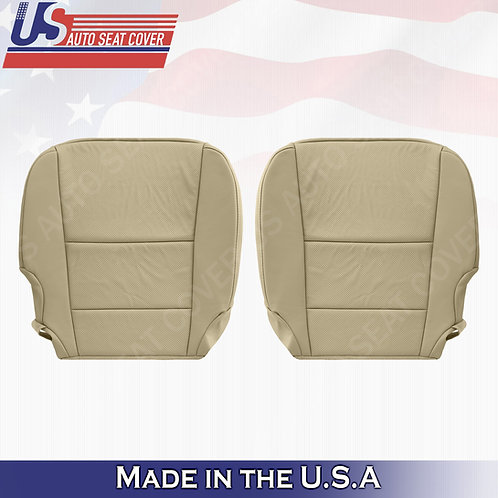 For 2013-2018 Acura RDX Driver Passenger bottom covers perforated leather tan