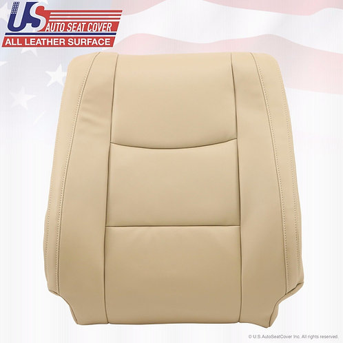 2003-2009 Lexus GX470 Driver Side Lean Back Replacement Leather Seat Cover Tan