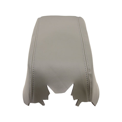 2007 2008 Ford F150 Lariat Armrest Console Lid Synthetic Leather Cover Gray