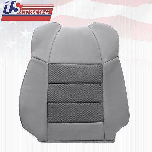 2003-2007 Ford F250 XLT Super-Cab X-Cab-Driver Side top Cloth Seat Cover Gray