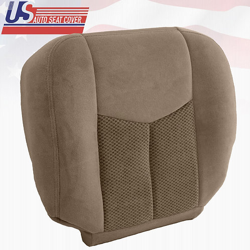 2002- 2006 Chevy Suburban 2500 Bottom Cloth Replacement Seat Cover TAN