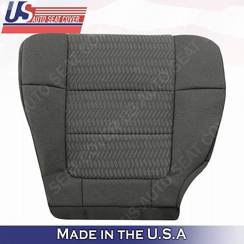 2001 2002 Ford F150 Quad Cab X-Cab Driver Bottom Cloth Dark Gray Seat Cover