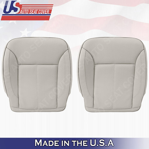For 2007-2012 Mercedes Benz GL450 BOTTOMS Perforated Leather Cover Gray