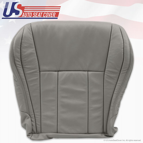 1996-2000 TOYOTA 4 RUNNER PASSENGER BOTTOM LEATHER SEAT COVER GRAY