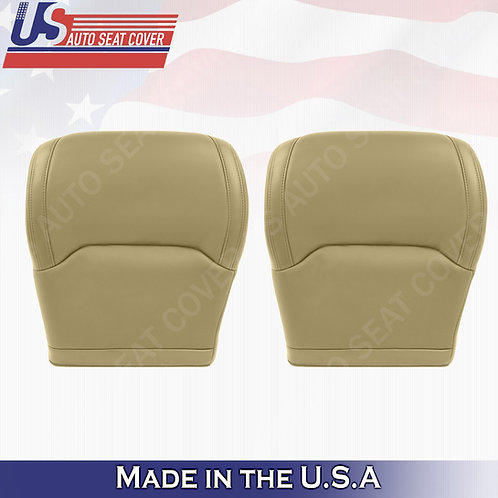 For 1999-2003 Acura TL Driver Passenger Bottom Leather Seat Cover Tan