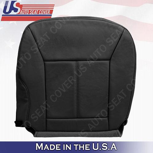 2006 - 2013 Chevy Impala Passenger Bottom Leather seat Cover Ebony