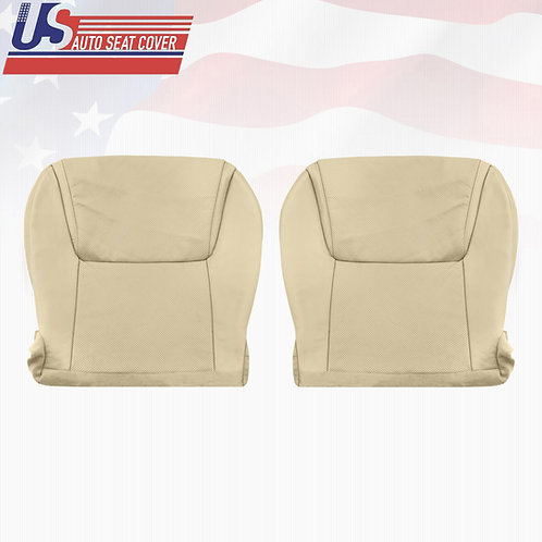 2008-2015 Lexus Lx570 Driver & Pasenger Bottom Perforated Leather Seat Cover Tan