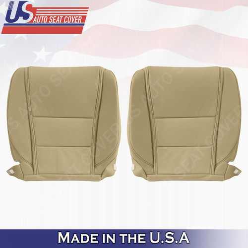 Driver Passenger Bottom Perforated Leather For 2009-2014