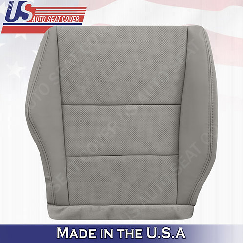2007-2012 Acura RDX Passenger bottom perforated leather in gray seat cover
