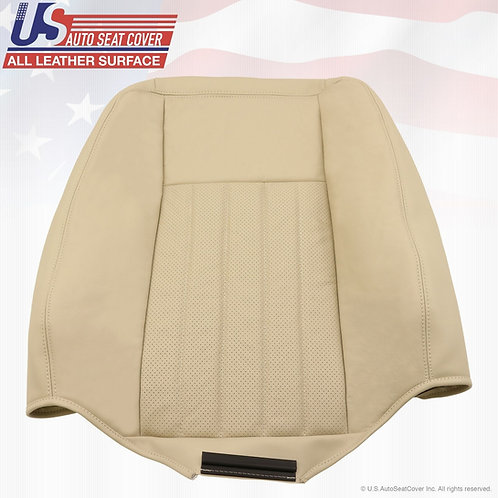 2005 2006 Lincoln Navigator Driver Top Perforated Leather Seat Cover TAN