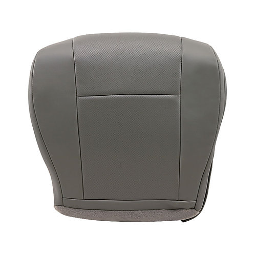 2009-2014 Ford Econoline Wagon Driver Bottom Replacement vinyl Seat Cover Gray