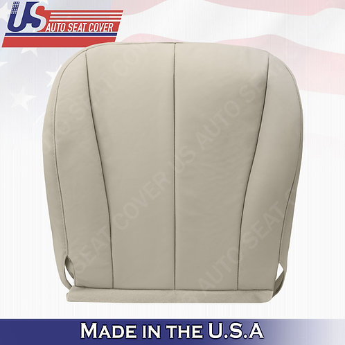 For 2007-2011 Toyota Camry Driver Bottom Leather Seat Cover Tan