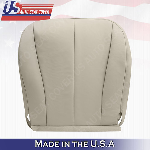 For 2007-2011 Toyota Camry Passenger Bottom Leather Seat Cover Tan