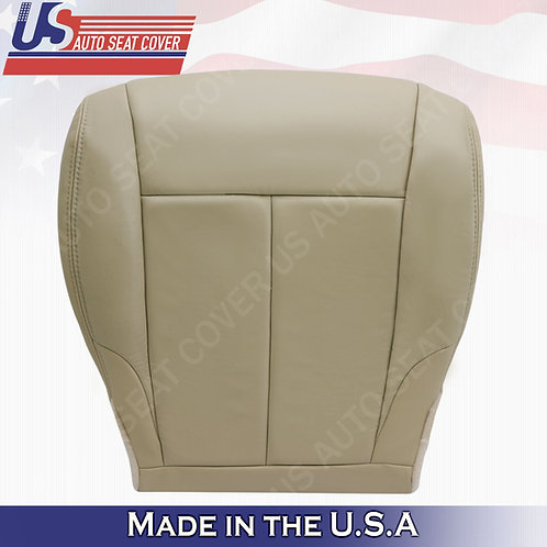 For 2007-2012 Nissan Altima Passenger bottom leather seat cover Tan