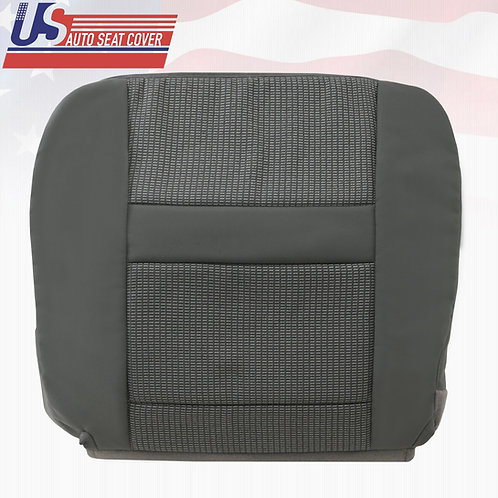 2007-2010 Dodge Ram 2500 Driver Bottom Cloth Seat Cover In Med. Slate Gray