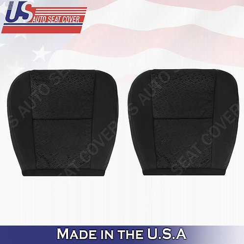 2007 2008 GMC YUKON Driver Passenger Bottom Cloth Seat Cover Black