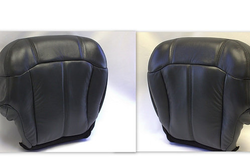 1999-2002 Chevy Tahoe Suburban leather seat cover Bottom Graphite