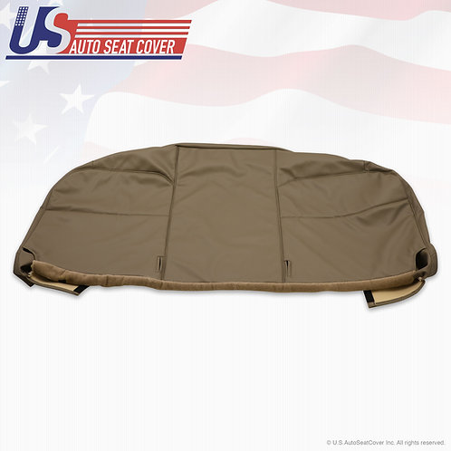 2008 2009 2010 Ford F550 XL Work Truck Bottom Bench Vinyl Seat Cover Tan