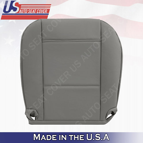 Fits 1999 to 2006 BMW 325I 350I Passenger Bottom Leather Seat Cover Gray