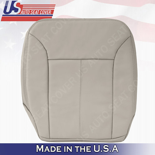 For 2007-2012 Mercedes Benz GL350 Driver Bottom Leather Cover Gray w/ STITCHING