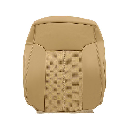 2011-2014 Ford F-250 Lariat Top Driver leather Perforated seat cover Tan
