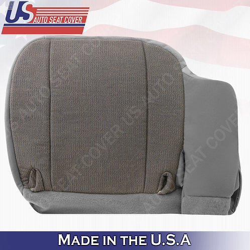 2000 2001 2002 Ford Ranger XL XLT Sport-Driver Side Bottom Cloth Seat Cover Gray