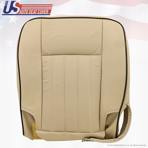 2005 2006 Lincoln Navigator Passenger Bottom Perf. Leather Seat Cover Camel Tan