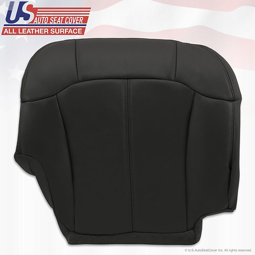 2000 2001 2002 Chevy1500 2500 3500 Passenger Bottom Leatherette Seat Cover